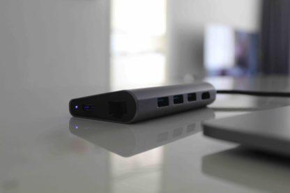 USB hub, docking station laptop, usb-c hub 8 in 1 iSetchi