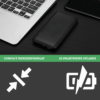 iSetchi 10.000 mAh 4-in-1 Powerbank - Met Ingebouwde Oplaadkabels – Telefoon Oplader Geschikt voor Apple/Lightning - Micro USB - USB-C - USB Poort – iPhone – Samsung & Android