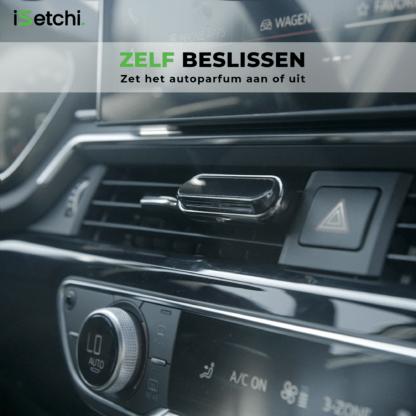 iSetchi® Autoparfum Inclusief 4 geuren – Auto luchtverfrisser - Parfum voor luchtrooster - Autogeur