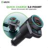 iSetchi® FM-transmitter (42W oplader snelladen) – Bluetooth Transmitter Auto – Handsfree bellen – USB-C 24W + USB-A 18W Auto Oplader - AUX Aansluiting Auto