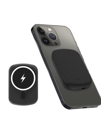iSetchi® Magsafe Powerbank 10.000 mAh – Klein formaat - Magnetisch & Draadloos – Voor iPhone 12 – Draadloze Oplader Batterij